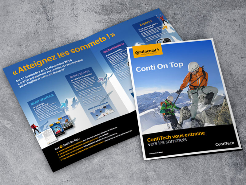 Challenge commercial Conti On Top 2014 - Continental